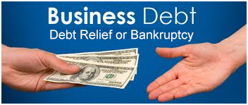 Business bankruptcy or debt relief