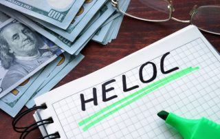 A HELOC is a home equity line of credit.