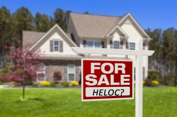 Can you sell your house if you have a home equity line of credit?