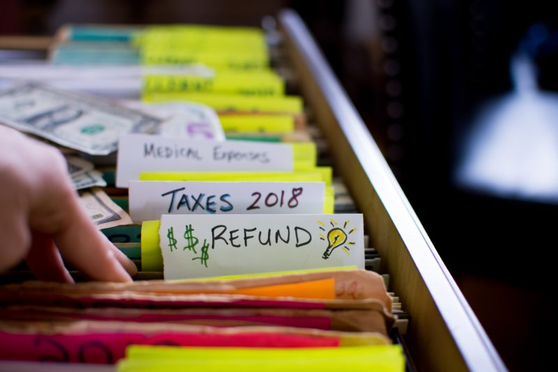 Tax refund ideas