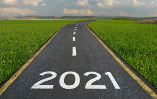 road with 2021 on it